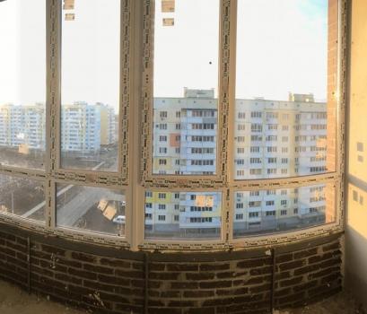 Огромная однокомнатная квартира с шикарным видом на зелёный массив и закаты!